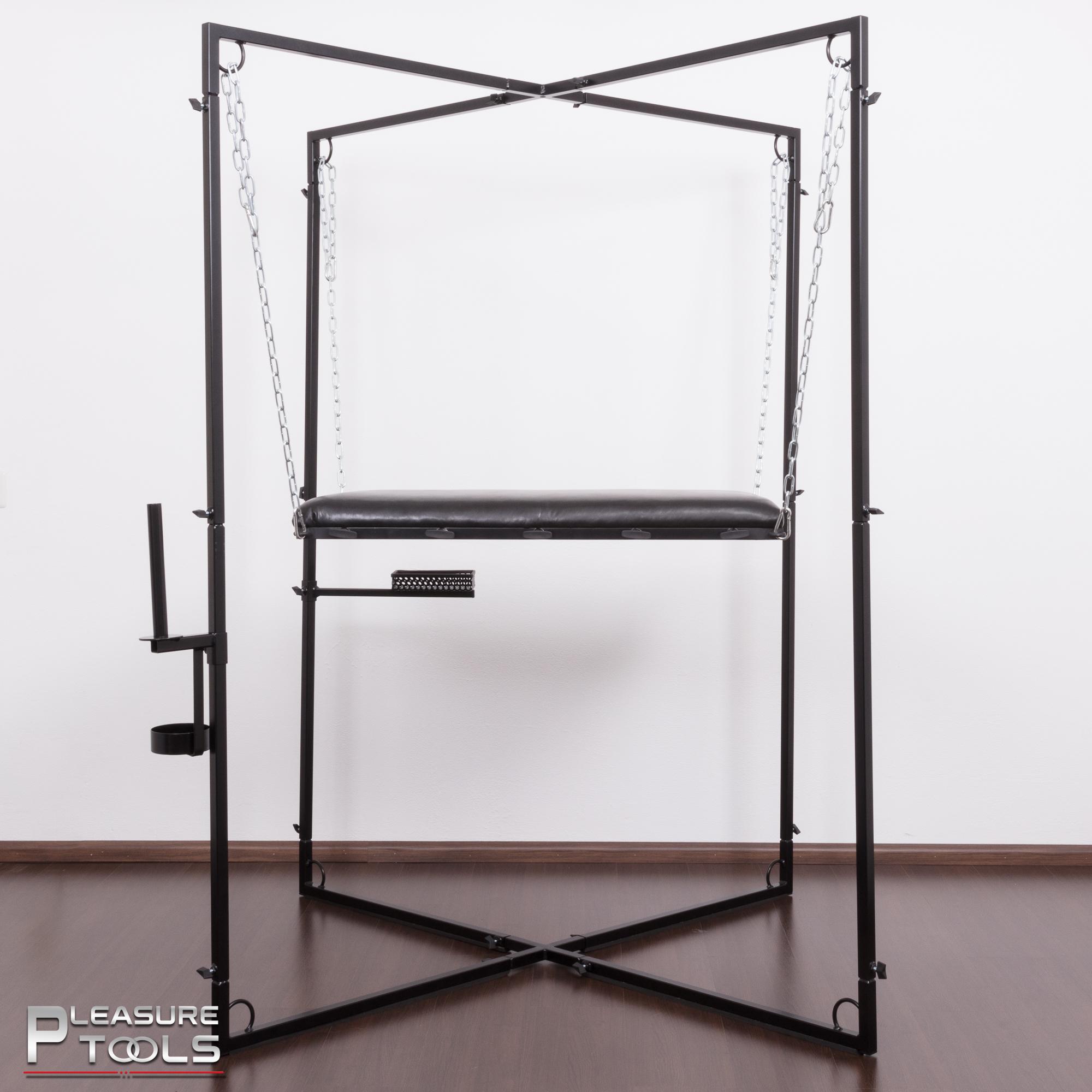 Pleasure Tools bondagetafel in frame zijaanzicht
